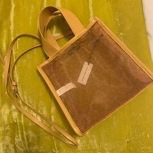 WWW Sheer Daisy Flower Tote Bag (NWT)